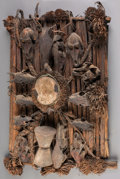Tribal Art, EJAGHAM,Nigeria and Cameroon. Power Board...