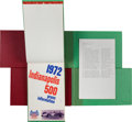 Miscellaneous Collectibles:General, 1971-80 Championship Auto Racing Hardbound Reference Books Lot of 5....