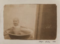 Photographs, Andrey Chezhin (Russia, b. 1960). Boy in a Tub, 1998. Relief surface print. 5-1/2 x 8-1/4 inches (14.0 x 21.0 cm). Signe...