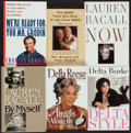 Miscellaneous Collectibles:General, Actors Signed Books Lot of 6. ...