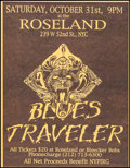 "Movie Posters:Rock and Roll, Blues Traveler at the Roseland (Roseland, 1991). Concert Poster(17.5"" X 22.5""). Rock and Roll.. ..."