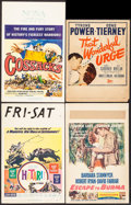 "Movie Posters:Adventure, Hatari! (Paramount, 1962). Window Cards (3) (14"" X 22""), TrimmedWindow Cards (6) (14"" X 15.5"" & 14"" X 18.25"") & RoadshowPr... (Total: 10 Items)"