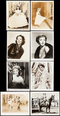 """Movie Posters:Miscellaneous, Vivien Leigh in Gone With the Wind & Other Lot (MGM, R-1947). Photos (30), Key Art Photo (Approx. 8"""" X 10""""), & Trimmed Photo... (Total: 32 Items)"""