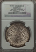 Mexico, Mexico: Republic 8 Reales 1873 Ca-MM AU Details (Surface Hairlines)NGC,...