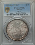 Mexico, Mexico: Republic 8 Reales 1883 Do-MC MS63 PCGS,...