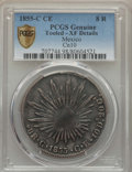 Mexico, Mexico: Republic 8 Reales 1855 C-CE XF Details (Tooled) PCGS,...