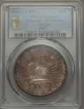 Mexico, Mexico: Republic 8 Reales 1844 Ca-RG XF Details (Cleaning) PCGS,...