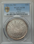 Mexico, Mexico: Republic 8 Reales 1890 Do-MC AU58 PCGS,...