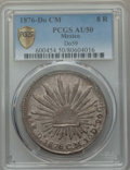 Mexico, Mexico: Republic 8 Reales 1876 Do-CM AU50 PCGS,...