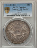 Mexico, Mexico: Republic 8 Reales 1846 Do-RM AU Details (Cleaning) PCGS,...