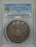 Mexico, Mexico: Republic 8 Reales 1858 Do-CP AU Details (Cleaning) PCGS,...