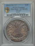 Mexico, Mexico: Republic 8 Reales 1864/3 Do-CP AU Details (Filed Rims)PCGS,...