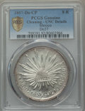 Mexico, Mexico: Republic 8 Reales 1857 Do-CP UNC Details (Cleaning)PCGS,...