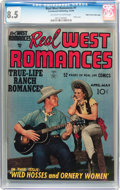 Golden Age (1938-1955):Romance, Real West Romances #1 Mile High pedigree (Crestwood, 1949) CGC VF+8.5 Off-white to white pages....