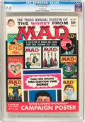 Magazines:Mad, Worst From Mad #3 (EC, 1960) CGC NM 9.4 Off-white pages....