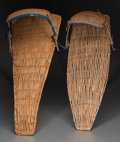 American Indian Art:Baskets, Two Paiute Baby Carriers. ... (Total: 2 Items)