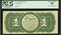 Error Notes:Large Size Errors, Fr. 17a $1 1862 Legal Tender PCGS Extremely Fine 40.. ...