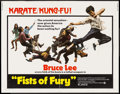 "Movie Posters:Action, The Big Boss (National General, 1973). Half Sheet (22"" X 28"").Action. U.S. Title: Fists of Fury.. ..."