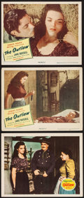 """Movie Posters:Western, The Outlaw (20th Century Fox, 1941/United Artists, 1946). Autographed Lobby Card & Lobby Cards (2) (11"""" X 14""""). Western.. ... (Total: 3 Items)"""