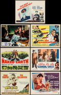 "Movie Posters:War, Never So Few & Others Lot (MGM, 1959). Title Lobby Cards (6) (11"" X 14"") & Italian Lobby Card (10.75"" X 13.75""). War.. ... (Total: 7 Items)"