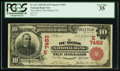 National Bank Notes:Pennsylvania, DuBois, PA - $10 1902 Red Seal Fr. 613 The DuBois NB Ch. # (E)7453....