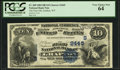 National Bank Notes:West Virginia, Grafton, WV - $10 1882 Date Back Fr. 545 The First NB Ch. # (S)2445. ...