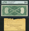 Fr. 39 $1 1917 Legal Tender PMG Choice About Uncirculated 58 EPQ