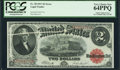 Error Notes:Large Size Errors, Fr. 58 $2 1917 Legal Tender PCGS Very Choice New 64PPQ.. ...
