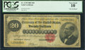 Large Size:Gold Certificates, Fr. 1178 $20 1882 Gold Certificate PCGS Very Good 10.. ...