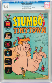 Stumbo Tinytown #1 File Copy (Harvey, 1963) CGC NM+ 9.6 Off-white to white pages