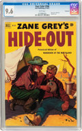 Golden Age (1938-1955):Western, Four Color #346 Zane Grey's Hide-Out - Vancouver Pedigree (Dell,1951) CGC NM+ 9.6 White pages....
