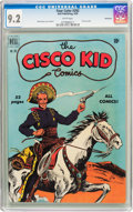 Golden Age (1938-1955):Western, Four Color #292 Cisco Kid - Vancouver Pedigree (Dell, 1950) CGC NM-9.2 White pages....
