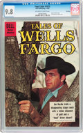Silver Age (1956-1969):Western, Four Color #1075 Tales of Wells Fargo - File Copy (Dell, 1960) CGCNM/MT 9.8 Off-white to white pages....