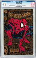 Modern Age (1980-Present):Superhero, Spider-Man #1 Gold Edition (Marvel, 1990) CGC NM/MT 9.8 Whitepages....