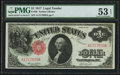 Fr. 36 $1 1917 Legal Tender PMG About Uncirculated 53 EPQ