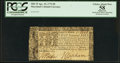 Colonial Notes:Maryland, Maryland April 10, 1774 $8 PCGS Apparent Choice About New 58.. ...
