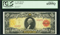 Large Size:Gold Certificates, Fr. 1180 $20 1905 Gold Certificate PCGS Gem New 65PPQ.. ...