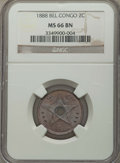 Belgian Congo, Belgian Congo: Belgian Colony Pair of Certified Minors,... (Total:2 coins)