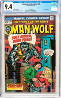Bronze Age (1970-1979):Horror, Creatures on the Loose #30 (Marvel, 1974) CGC NM 9.4 Off-white towhite pages....