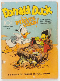 Four Color #9 Donald Duck (Dell, 1942) Condition: FR