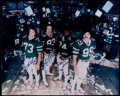"Football Collectibles:Photos, Mark Gastineau, Marty Lyons, Joe Klecko & Abdul Salaam ""SackExchange"" Multi Signed Photograph. ..."