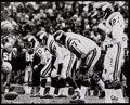 Football Collectibles:Photos, Purple People Eaters Multi-Signed Oversized Photograph....