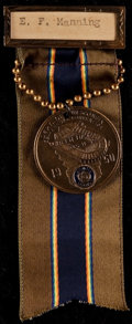 Football Collectibles:Others, 1950 Green Bay American Legion Dept. of Wisconsin Convention Medal - With Packers Old City Stadium....