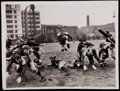 Football Collectibles:Photos, 1937 Green Bay Packers Original News Photograph - Featuring Crystal Clear Image with Don Hutson!...