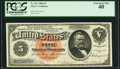 Large Size:Silver Certificates, Fr. 261 $5 1886 Silver Certificate PCGS Extremely Fine 40.. ...