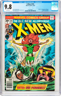 X-Men #101 (Marvel, 1976) CGC NM/MT 9.8 White pages