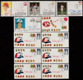 Baseball Collectibles:Others, Pete Rose Signed First Day Covers Lot of 11 - Also Includes 10Unsigned Examples....