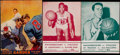 Miscellaneous Collectibles:General, 1945-58 Misc. Madison Square Garden Sports Programs Lot of 3....