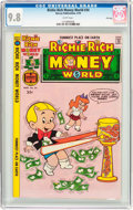 Bronze Age (1970-1979):Cartoon Character, Richie Rich Money World #34 File Copy (Harvey, 1978) CGC NM/MT 9.8White pages....