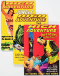 Memorabilia:Pulps, High Adventure #79-104 (Adventure House, 2004-09) Condition:Average NM-.... (Total: 26 Items)